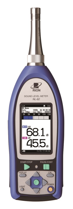 Rion NL-62 Infrasound Sound Level Meter